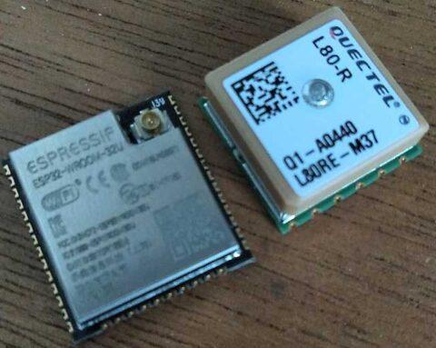 ESP32U vs L80-R
